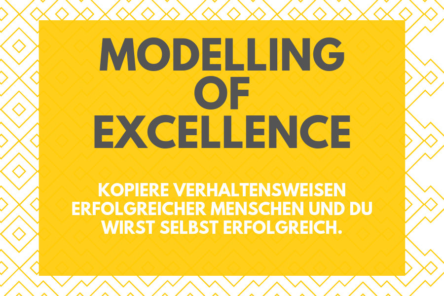 modelling of excellence